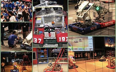 Some scenes from the 2013 FIRST Robotics Competition, March 11 at Nokia Stadium in Tel Aviv (photo credit: Education Ministry)