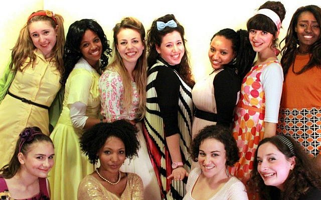 'Hairspray' Jerusalem cast members (photo credit: Elle Yahalom and Elianna Rosenschein)