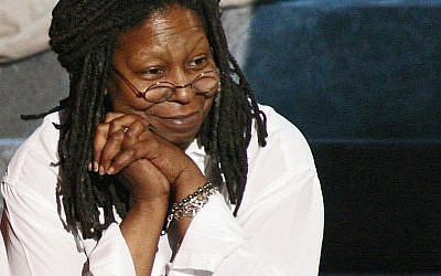 Whoopi Goldberg in what could be a Kedem Sasson shirt (photo credit: Daniel Langer/Creative Commons Attribution-Share Alike 2.0)
