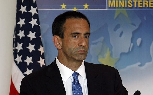 Philip Gordon during his tenure as the Obama administration's Middle East coordinator (AP/Philippos Christou)