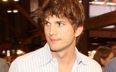 Ashton Kutcher in 2006 (photo credit: CC BY, by Howcheng, Wikimedia Commons)