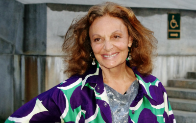 """I hadn't realized how deeply connected I really felt,"" Diane von Furstenberg says of her early involvement in commemorating the Holocaust. (Photo credit: CC BY/david_shankbone via Flickr.com)"