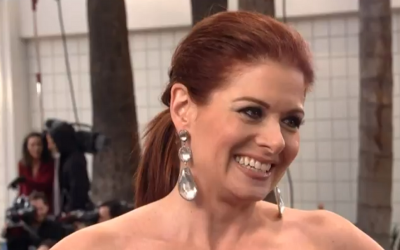 Debra Messing is planning ahead. (YouTube screenshot)