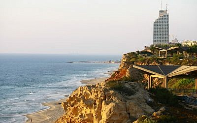 Netanya's coastline. (photo credit: Omer Messinger/Flash90)