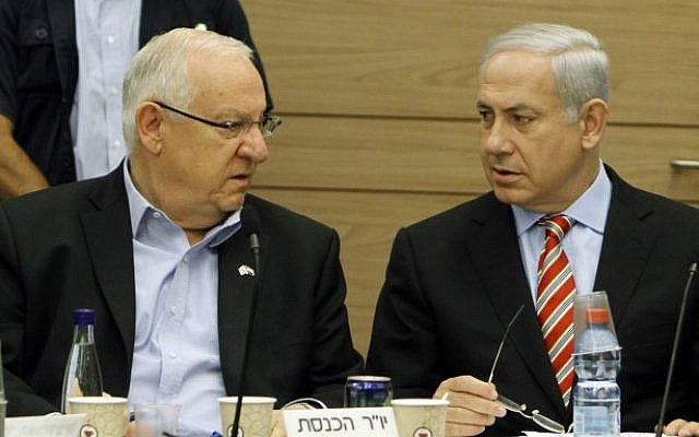 President Taps Gantz to form Coalition after Netanyahu Fails