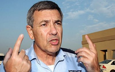 Former air force chief Ido Nehushtan (photo credit: Gideon Markowicz/Flash90)