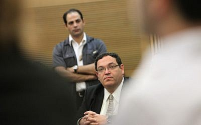 Rabbi Shai Piron at the Knesset, on  February 3, 2013. (photo credit: Miriam Alster/Flash90)
