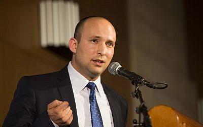 Economy Minister Naftali Bennett. (photo credit: Yonatan Sindel/Flash90)