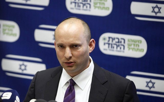 Naftali Bennett (photo credit: Flash90)