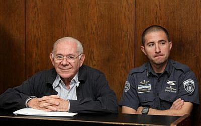Former judge Dan Cohen seen in court on March 21, 2013 (photo credit: Yossi Zeliger/Flash90)