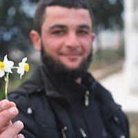 A new recruit to the militant Jihadist Al-Nusra Front. Hama, northern Syria (photo: Eliyahu Kamisher)
