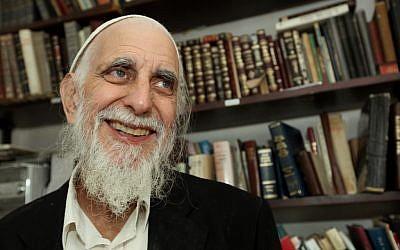 Menachem Froman, 1945-2013 (Photo credit: Moshe Shai/FLASH90)