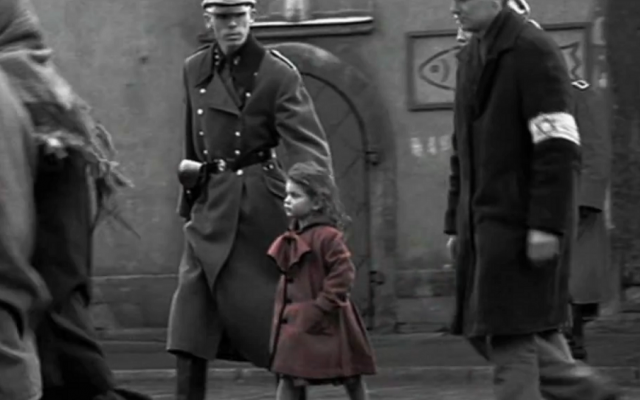The 'girl in red' scene from the Academy Award-winning film Schindler's List. (YouTube screenshot)