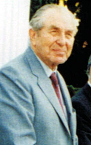 Chaim Herzog, Israel's sixth president, was born and raised in Dublin. (Photo credit:  Ilan Arbel via Wikipedia)