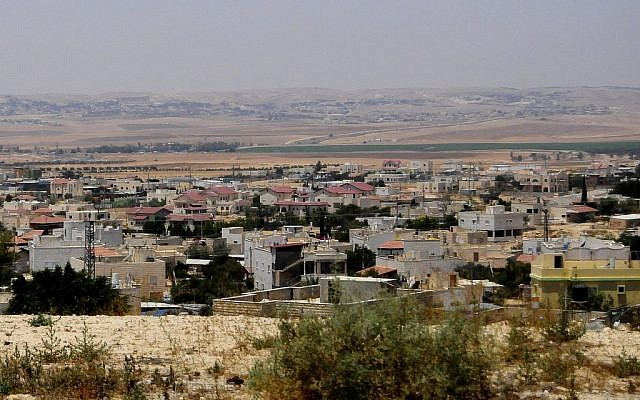 The Bedouin village of Hura in southern Israel (CC BY-SA, by Romayan, Wikimedia Commons)