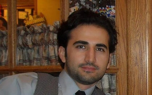 Former US Marine Amir Hekmati, who is being held in a prison in Iran on charges of spying for the CIA (photo credit: AP/Hekmati family via FreeAmir.org)