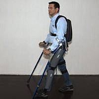 The ReWalk in action (Courtesy)