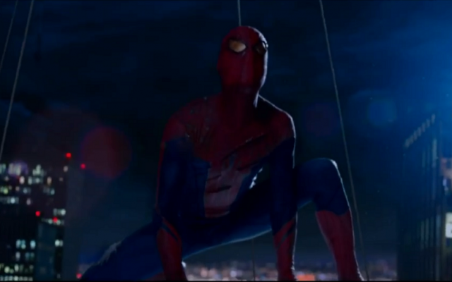 Spider-Man is helping to preserve the holiday atmosphere in a heavily Jewish part of Brooklyn. (YouTube screenshot)