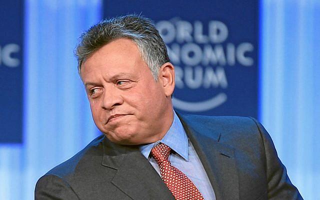 King Abdullah II of Jordan at the 2013 World Economic Forum (photo credit: CC BY World Economic Forum/Wikipedia)