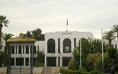Bardo Palace, the meeting place of Tunisia's National Constituent Assembly (photo credit: public domain)