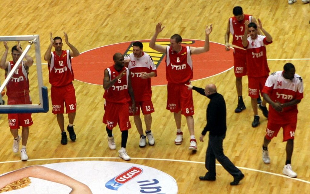 Hapoel Jerusalem during a recent game (photo credit: Yossi Zamir/Flash 90)