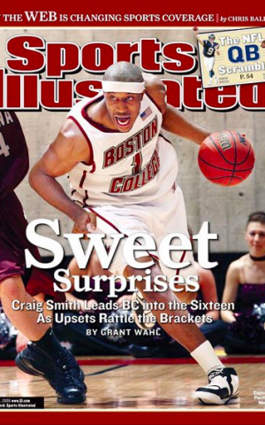 Craig Smith on the cover of Sports Illustrated (Courtesy Craig Smith Facebook)
