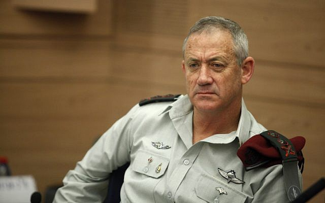 IDF Chief of Staff Lt.-Gen. Benny Gantz (photo credit: Flash90)