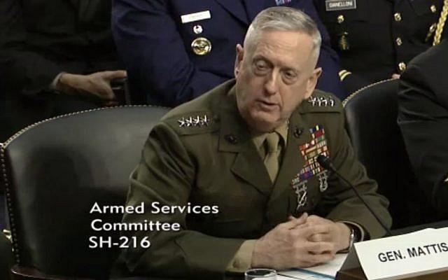 Former Central Command chief Gen. James Mattis. (AP)
