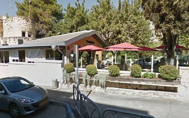 The Restobar Cafe in Jerusalem (photo credit: image capture Google Street Views)