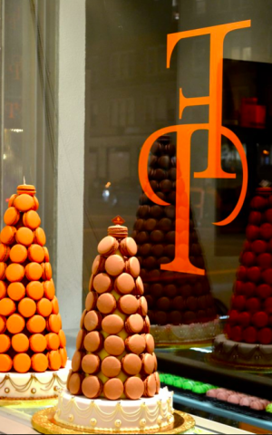 A mountain of Francois Payard's macarons (Courtesy Francois Payard)