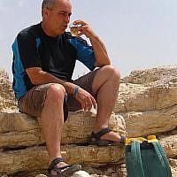 Raz Arbel, marketing maven for Mizpe and the Negev (Courtesy Raz Arbel)