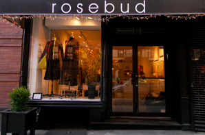 The Rosebud storefront, 131 Thompson Street in SoHo, New York (Courtesy Rosebud website)