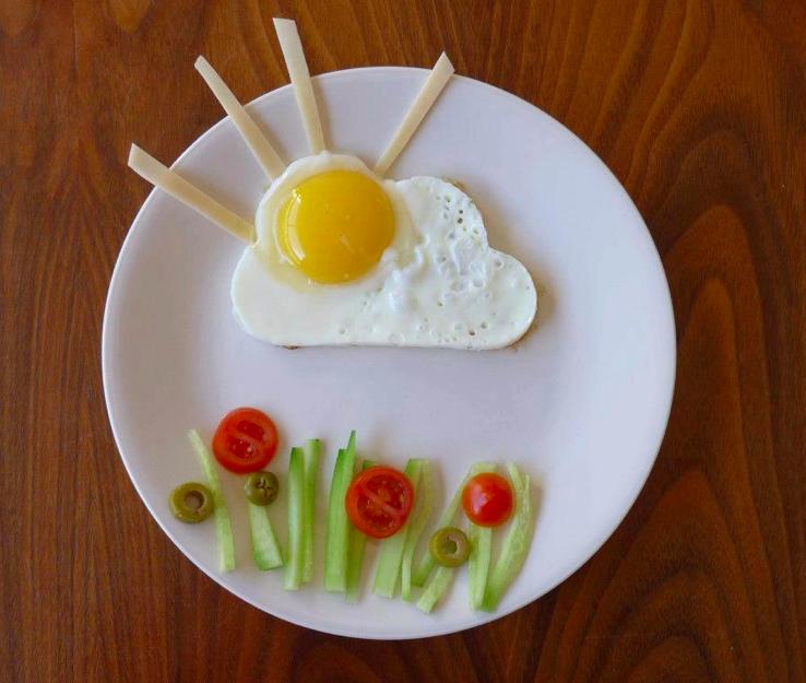 A plate of Sunnywide up, by Avihai Shurin (Courtesy Avihai Shurin)