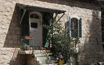Templer home on Cremieux (photo credit: Shmuel Bar-Am)