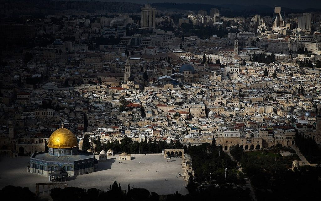 The Dome of the Rock, March 1, 2013 (Photo credit: Nati Shohat/Flash90)