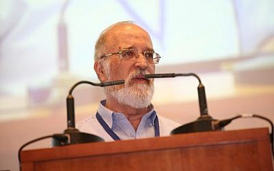 Dr. Yitzchak Ben-Yisrael of the National Cyber Directorate at a recent conference (photo credit: Courtesy Yuval Ne'eman Workshop for Science, Technology, and Security of Tel Aviv University)