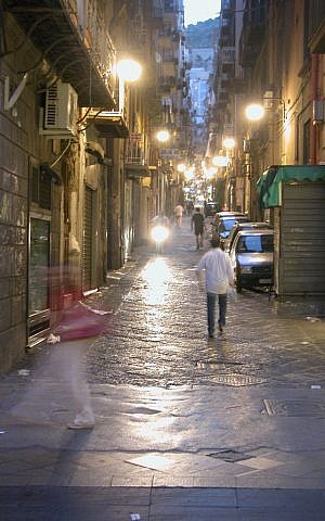 A street scene in Naples, Italy (photo credit: CC BY-ND   JamesCanby, Flickr)