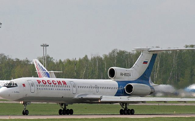 Planes at Domodedovo Airport in Moscow. (photo credit: CC BY  Andrey Belenko, Flickr)