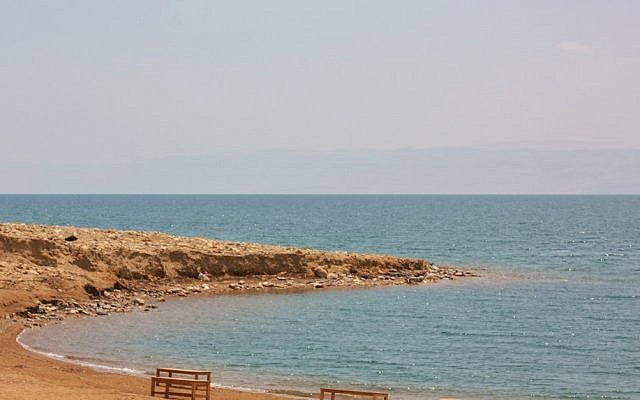 The Jordanian bank of the Dead Sea. (CC BY jemasmith, Flickr)
