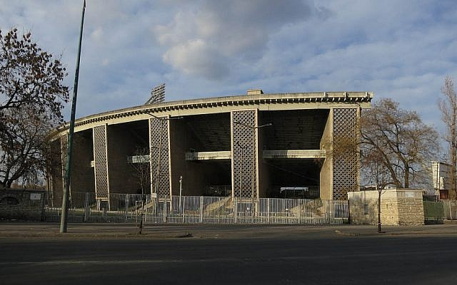 The Puskas stadium in Budapest, Hungary (photo credit: CC BY zimpenfish, Flicker)