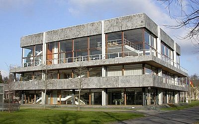 Germany's Federal Constitutional Court, in Karlsruhe (photo credit: CC BY-SA, Tobias Helfrich, Wikimedia Commons)