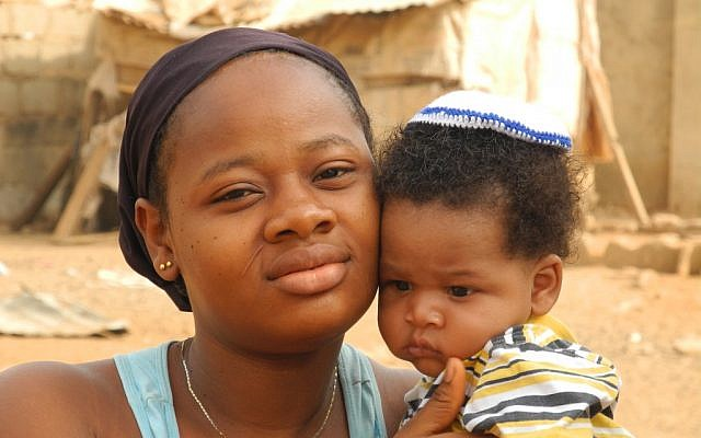 A new generation of Igbos is being raised with Judaism. (photo credit: Shai Afsai/Times of Israel)