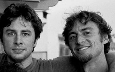 Zach Braff and brother Adam, the co-writers of future film, 'Wish I Was Here.' (photo credit: Kickstarter)