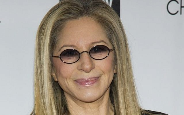 Honoree Barbra Streisand attends the Film Society of Lincoln Center's 40th Annual Chaplin Award Gala on Monday, April 22, 2013, in New York. (photo credit: Charles Sykes/Invision/AP)