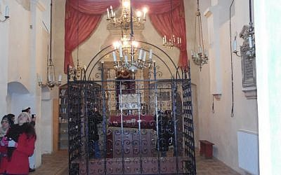 Inside a synagogue in Krakow  (photo: courtesy)