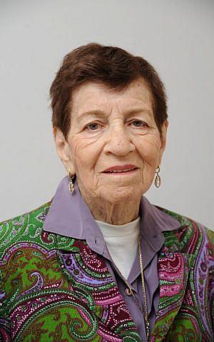 Dina Ostrover (photo credit: courtesy of Yad Vashem)