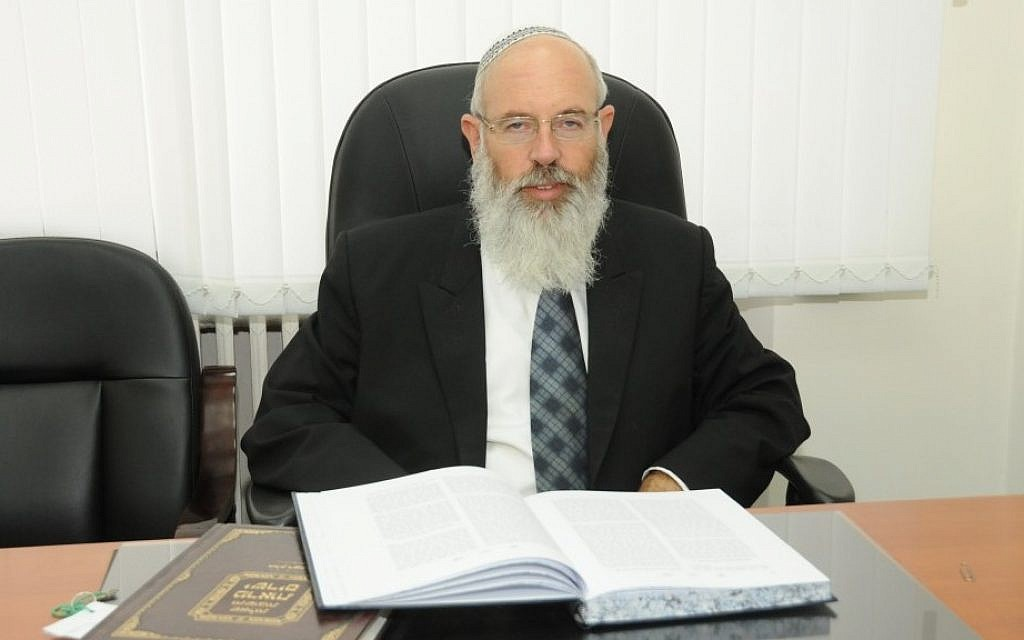 Rabbi Eliezer Igra believes the chief rabbinate is 'at the heart of the unity of the People of Israel' (photo credit: Courtesy)