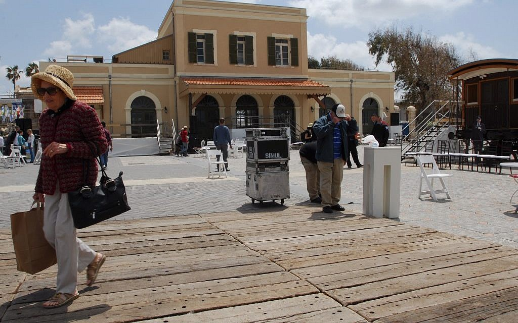 HaTachana train station in Tel Aviv, another Avi Mordoch project (photo credit: Gili Yaari/Flash 90)