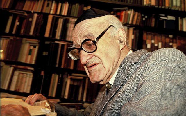 Yeshayahu Leibowitz (photo credit: Moshe Shai/Flash90)