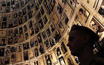 The Yad Vashem Holocaust memorial museum in Jerusalem, April 16, 2012. (photo credit: Miriam Alster/Flash90)
